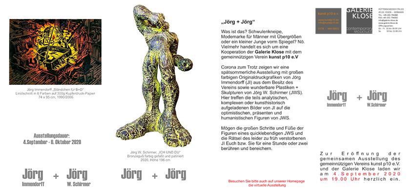 """Einladungskarte """"Jörg und Jörg"""""""
