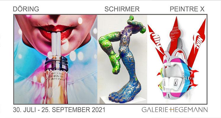 """Gruppenausstellung """"COLORFUL LIFE"""", Galerie Hegemann, München"""